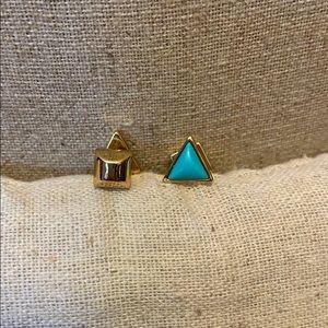 Stella & Dot Deja Vu Studs- Turquoise